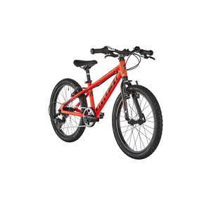 "Ghost Kato R1.0 AL 20"" Boys neon red/night black"
